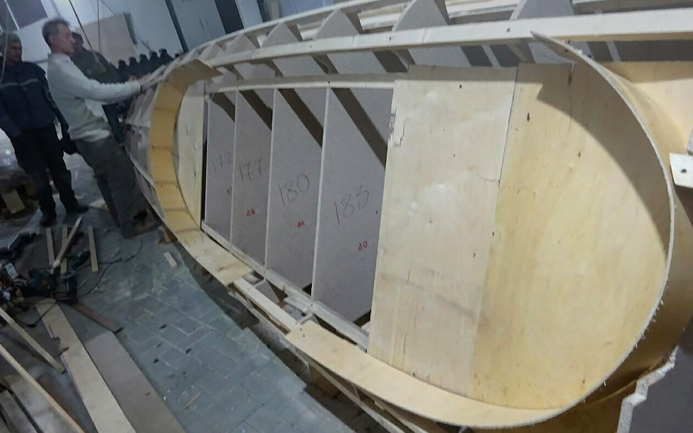 Ocean rowing boat building services